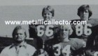 close up of James Hetfield on the Freshman Footbal team