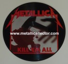 Metallica Kill Em All picture disc from Megaforce Records - Side 1