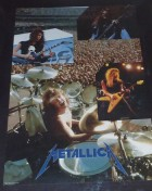 1986 Metallica poster with Cliff Burton