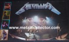 1989 Metallica poster signed in 1993 by band at New York City record store