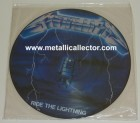 Ride The Lightning picture disc from Music for Nations - Side 1