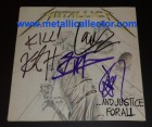 1988 signed And Justice For All album