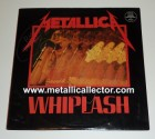 1986 signed Metallica Whiplash EP - front side